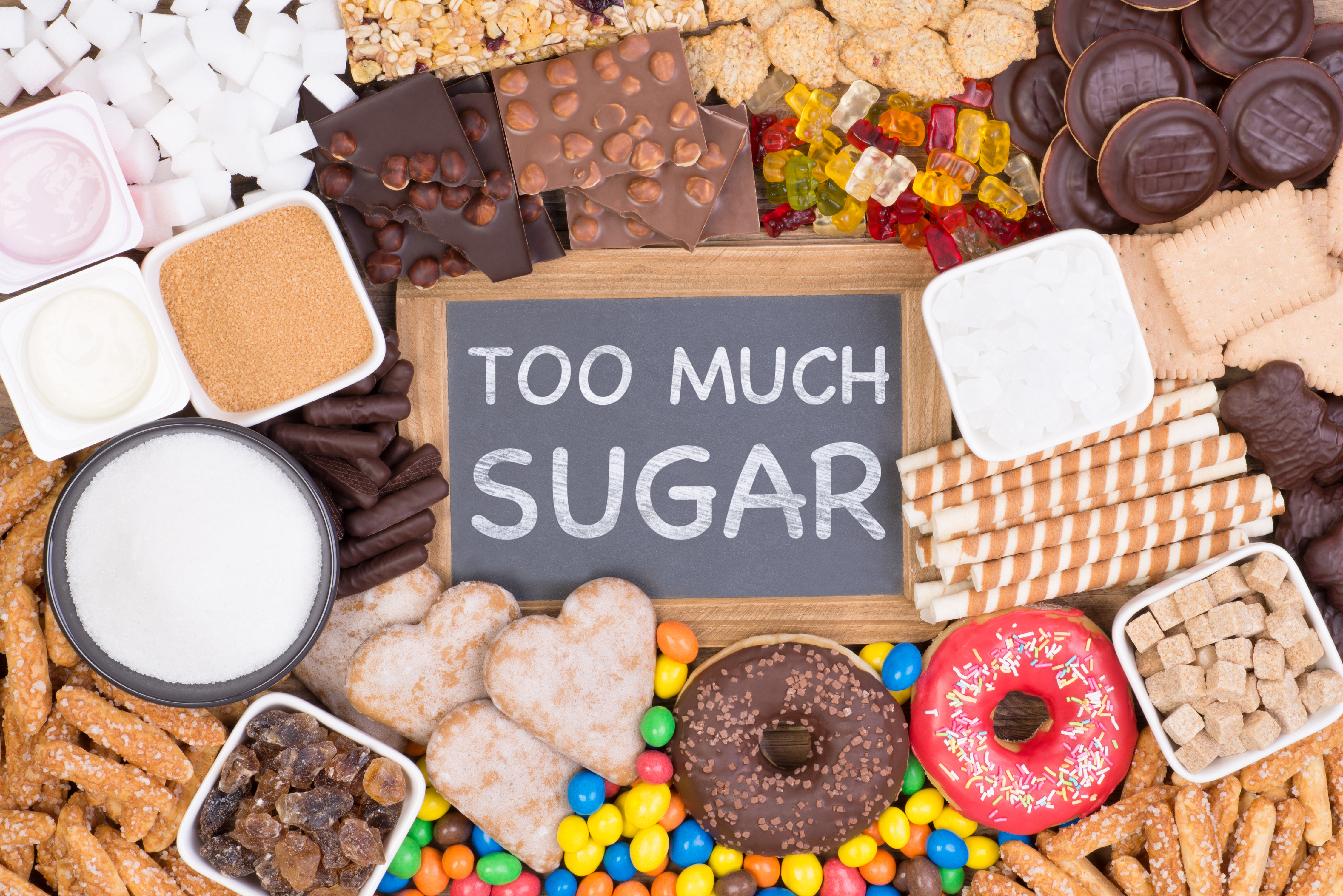 The Five Easiest Ways to Cut Back on Sugar